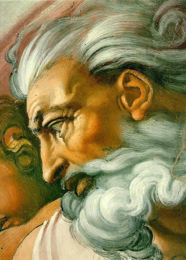 Michelangelo God